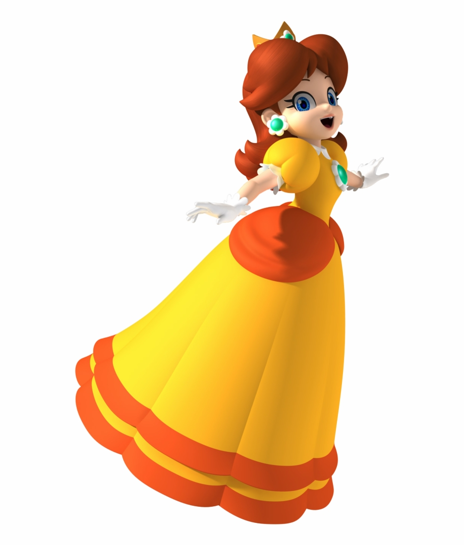 Characters And Partners Daisy Mario Party 8 Transparent