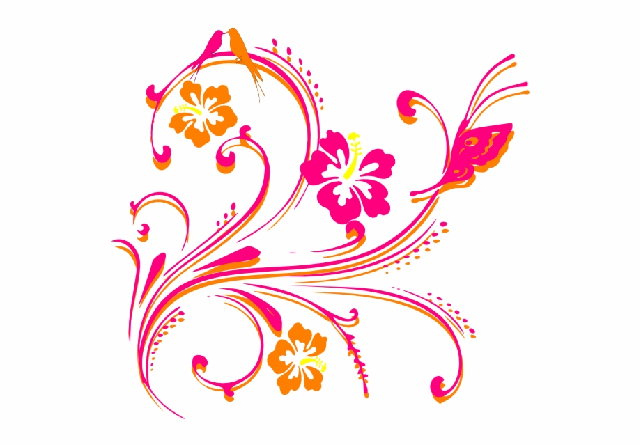 Hibiscus Png Images Wedding Card Design Png Hd Transparent Png Download 1006410 Vippng