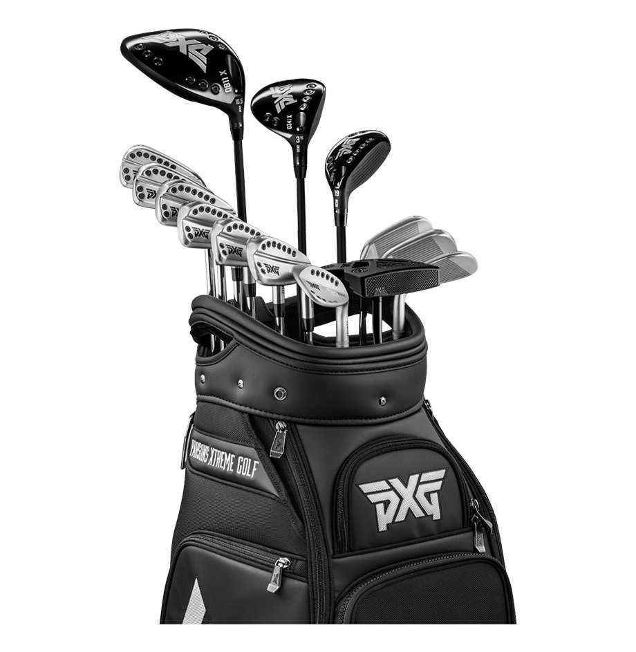 Golf Clubs Png Transparent Background Pxg Irons Gen 2 Transparent Png Download 1018018 Vippng