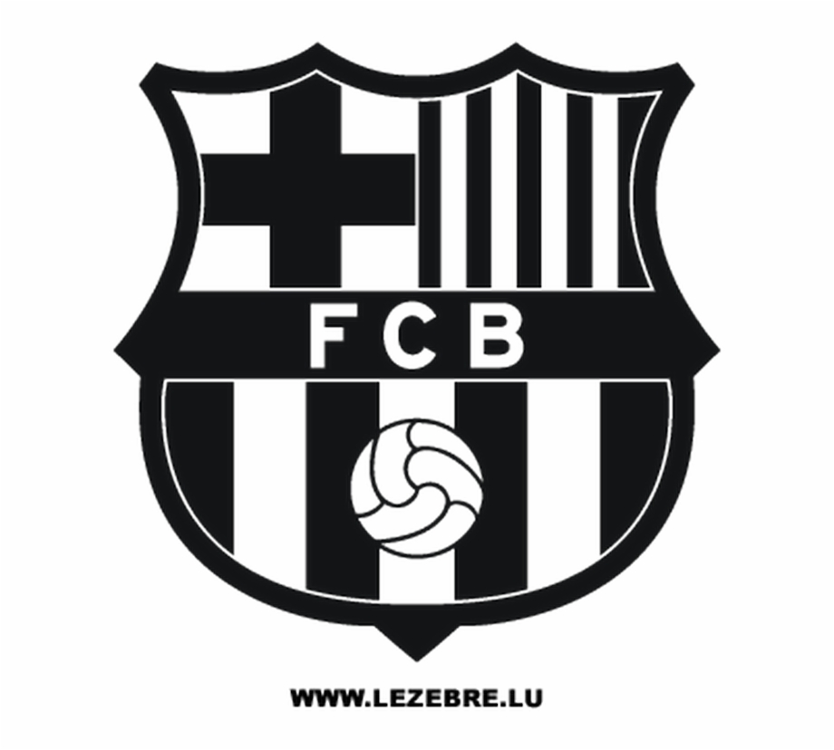 fcb black logo hd pic fc barcelona logo black and white transparent png download 1029823 vippng logo hd pic fc barcelona logo black