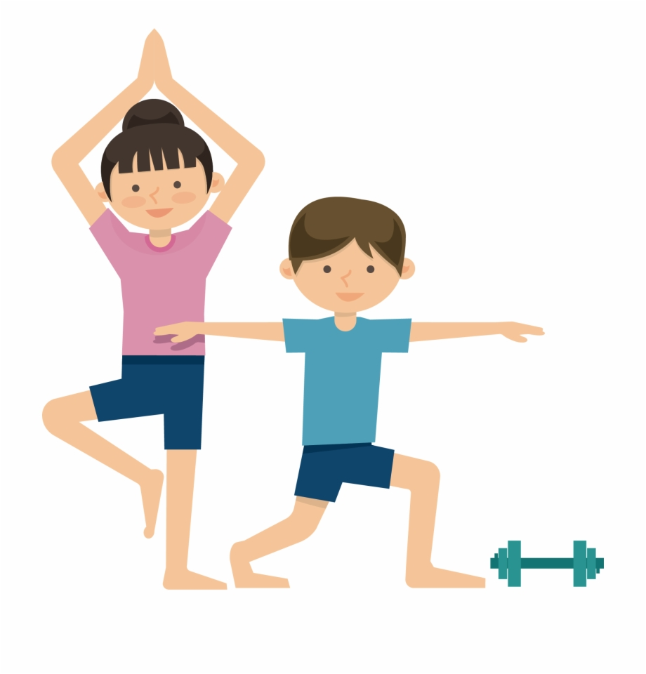 Excercise Cartoon Png - Physical Fitness Clipart Png | Transparent ...