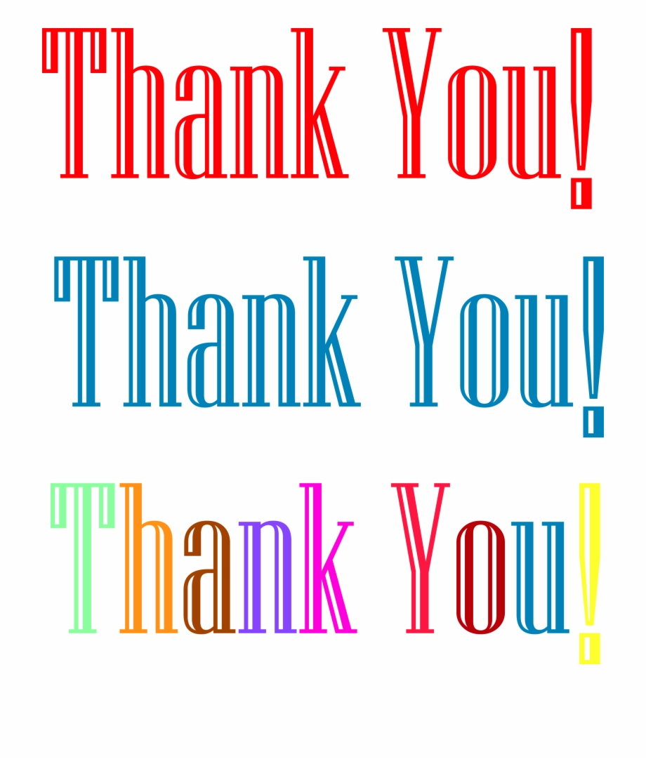 Thank You Clipart Free Stock Photo - Public Domain Pictures