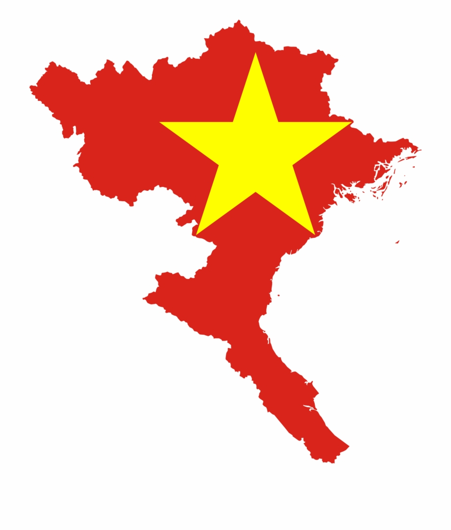 North Vietnam Map From Upload Vietnam Map Svg Transparent Png Download 1069835 Vippng