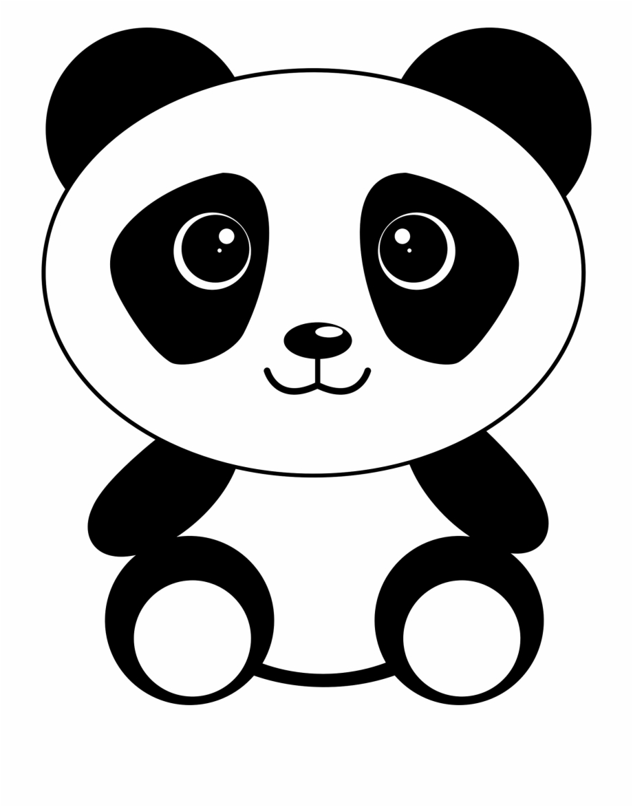 Cute panda bear illustrations, collection of colorful simple style birthday  greeting cards, posters.
