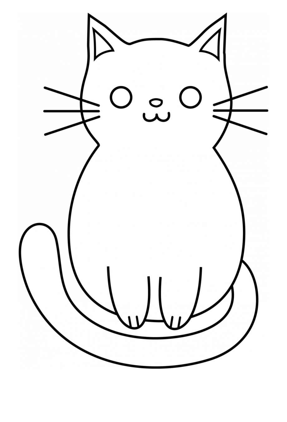 How To Draw A Cat Head Eye Cute Cartoon Easy Draw Cats