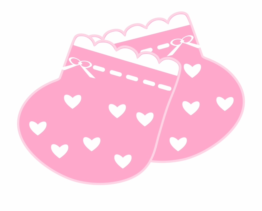 Baby Girl Clipart Scrapbook Pink Baby Booties Clipart Png Transparent Png Download 1113398 Vippng