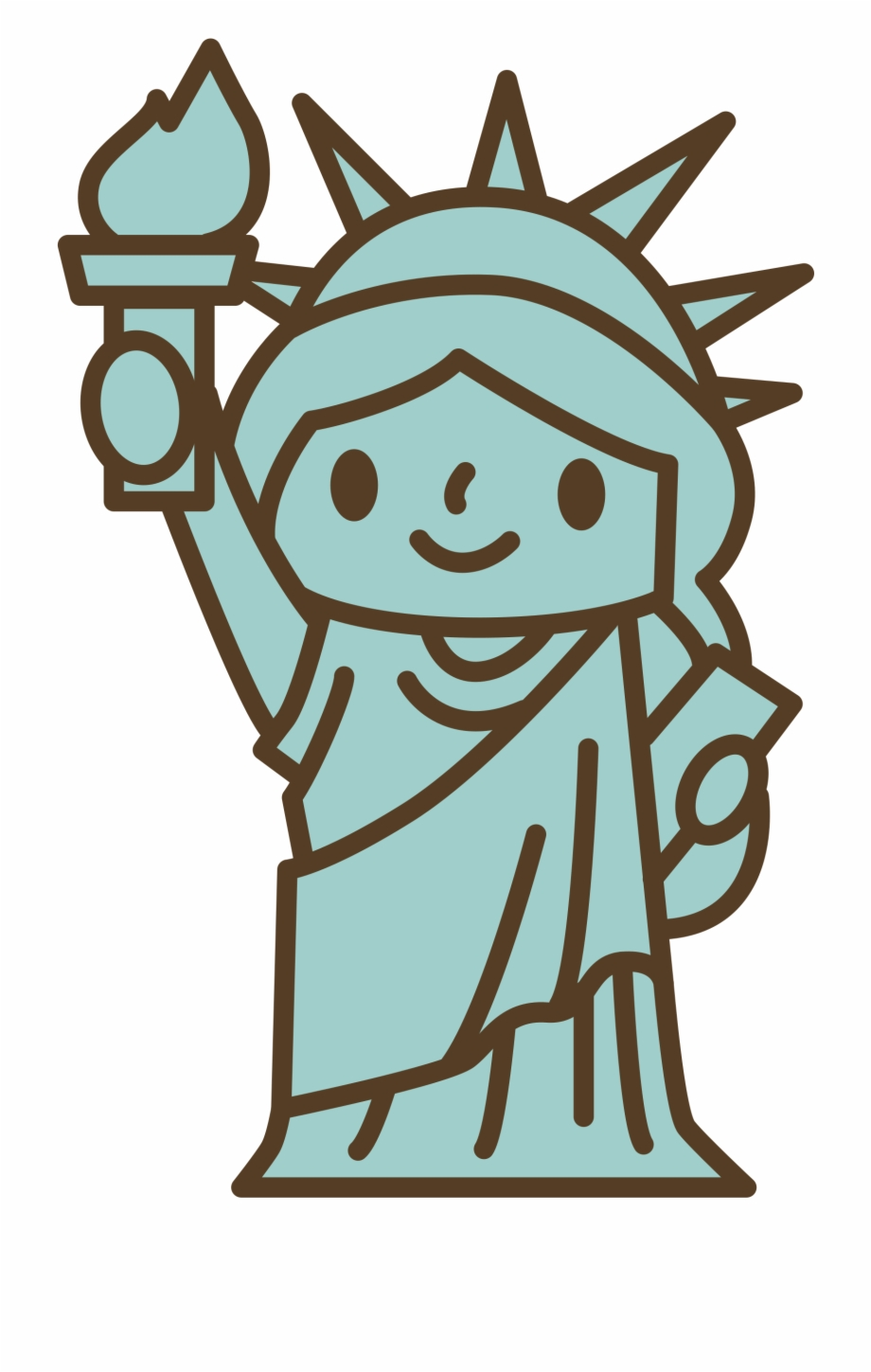 Statue Of Liberty Clipart Head Simple Statue Of Liberty Easy Drawing Transparent Png Download 1121505 Vippng Find the perfect statue of liberty image from our huge collection of stock photos. statue of liberty clipart head simple