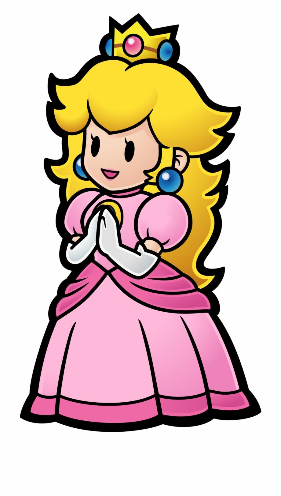 Princess Peach Png Image Ms P Paper Mario Transparent