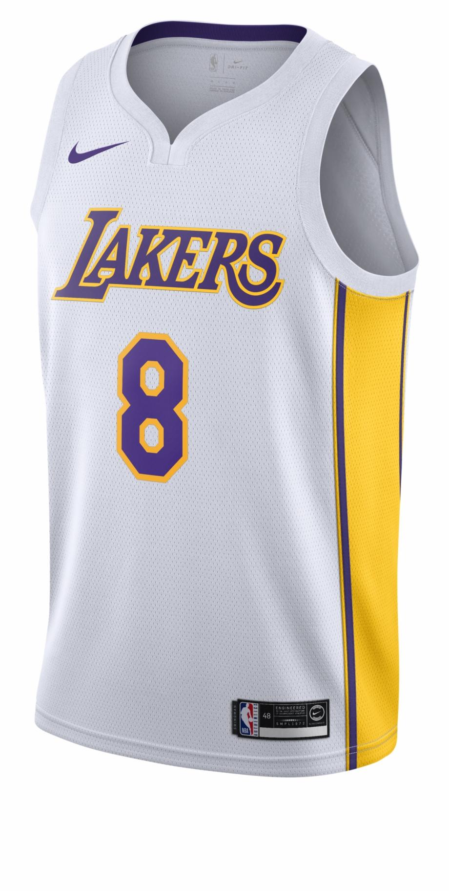 Nike Nba Los Angeles Lakers Kobe Bryant Swingman Home Lance Stephenson Jersey Lakers Transparent Png Download 1151432 Vippng