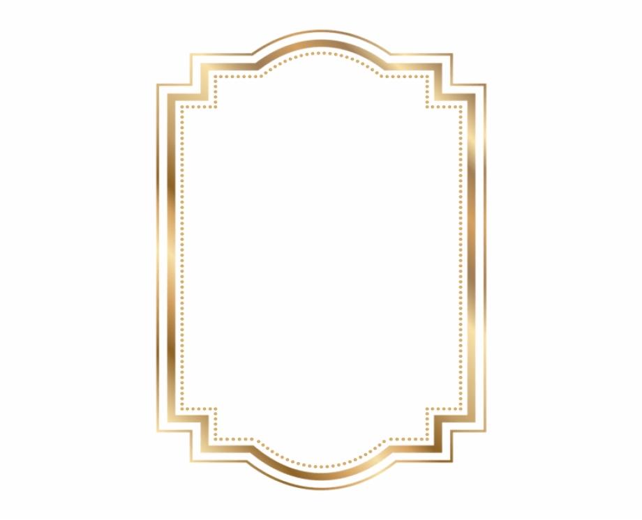 art deco frame png frame gold png - border gold frame png | transparent png