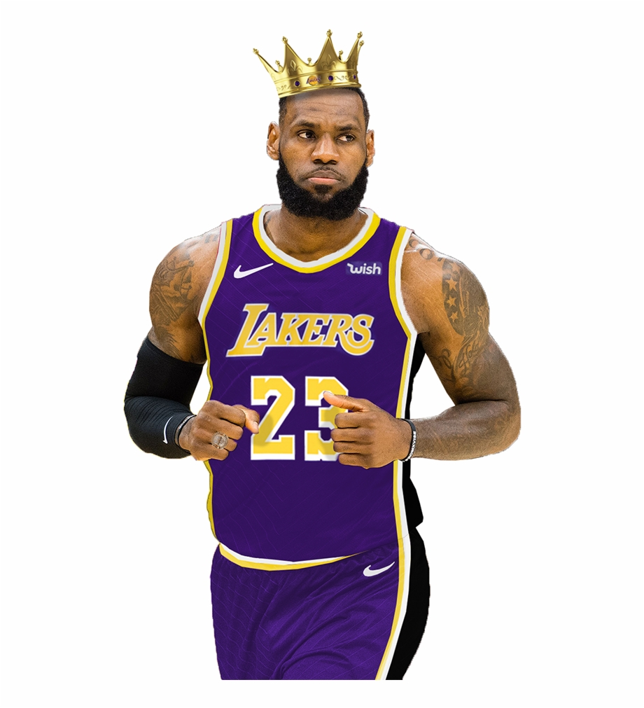 Of Lebron James In The Brand New Los Angeles Lakers Lakers