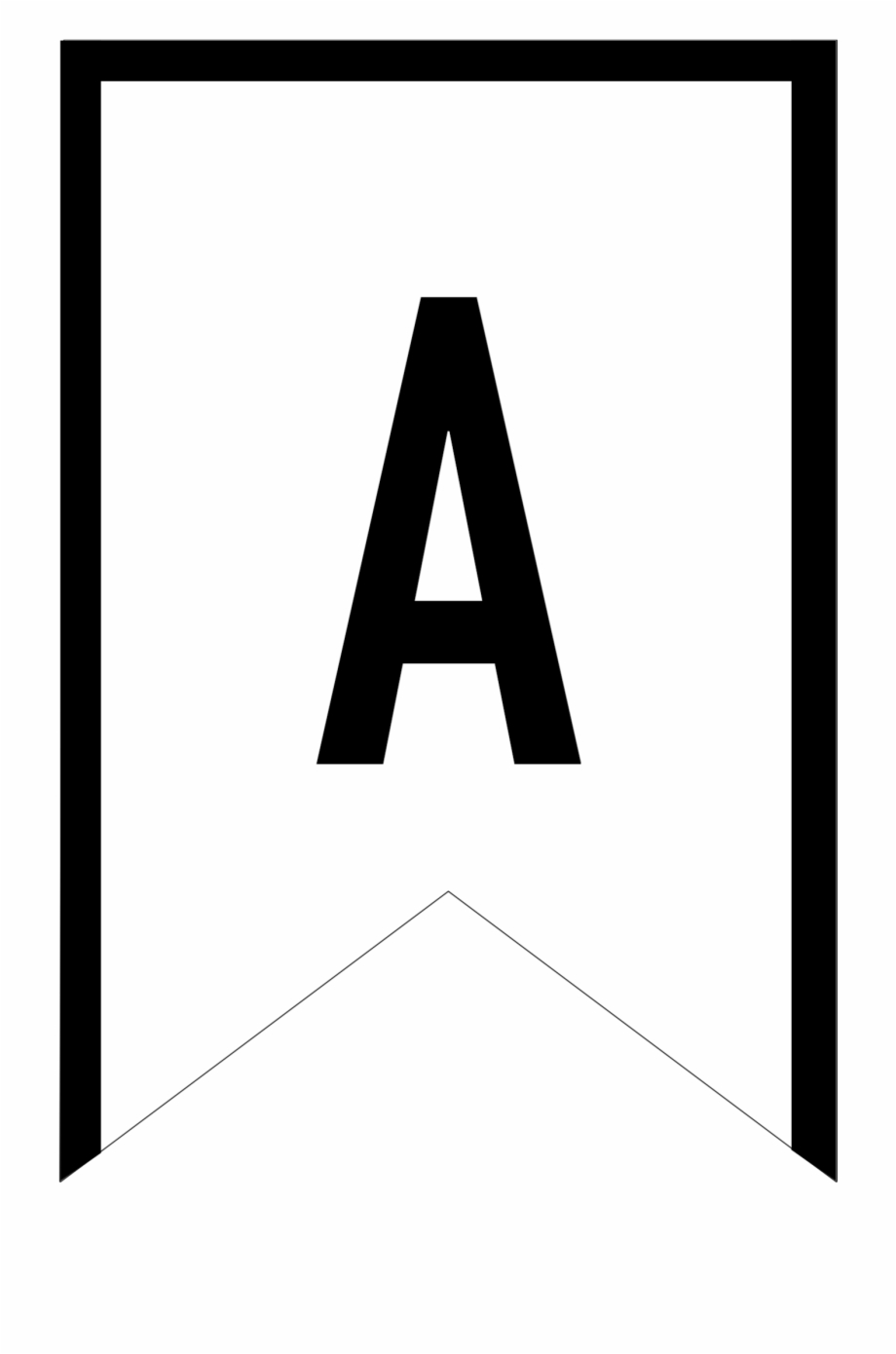 picture regarding Printable Letter for Banners known as Banner Templates Cost-free Printable Abc Letters - Printable