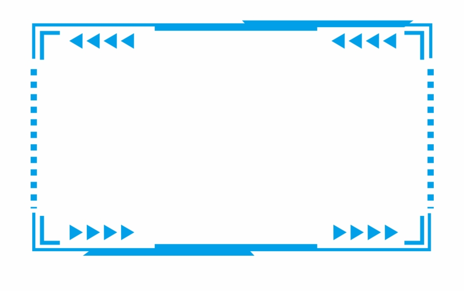 tech border blue futuristic png and psd futuristic frame png transparent png download 1186809 vippng tech border blue futuristic png and psd