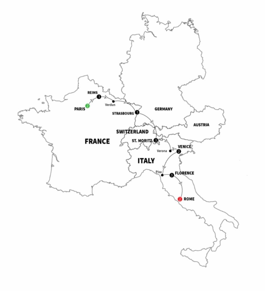 Etava Map Fc 13 Ed Custom - Map Of Italy And France Black ...