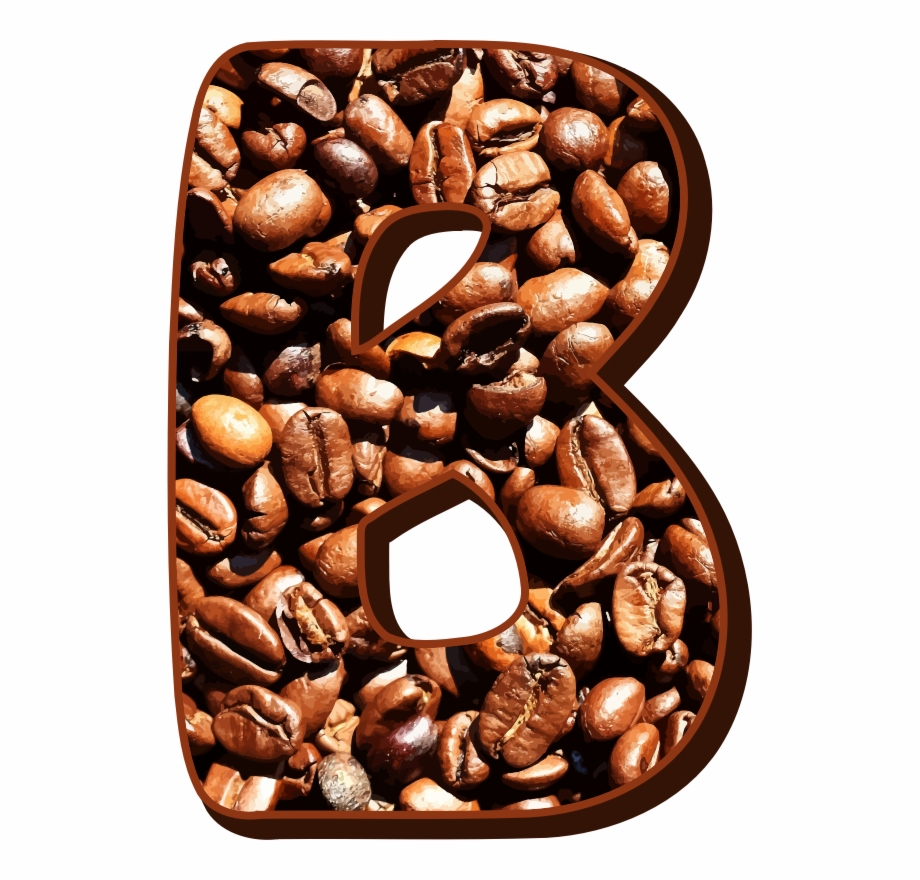coffee beans typography b logo biji kopi vektor transparent png download 1203274 vippng coffee beans typography b logo biji