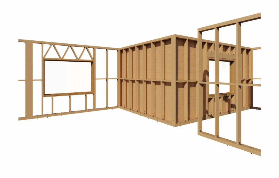 Bim Software The Wood Framing Wall Allows You To Solve