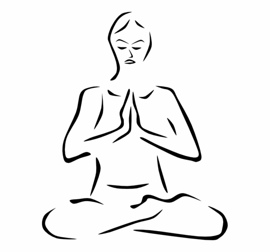 Yoga In The Museum Spiritual Clipart Transparent Png Download 1236760 Vippng