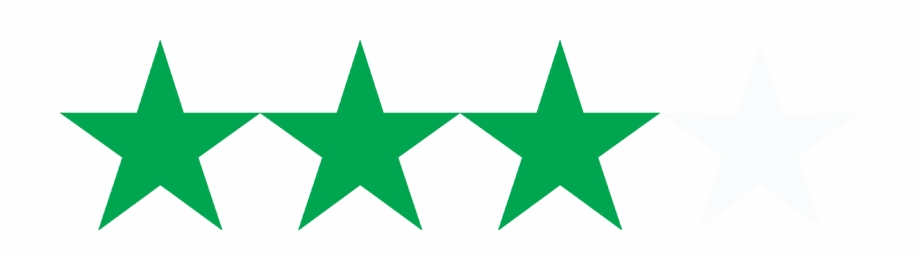 5 Star Rating Png Png Download 3 Black Stars Transparent Png