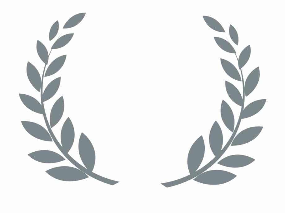Award Transparent Leaves Png Leaf Border Design Black And White Transparent Png Download 1305966 Vippng
