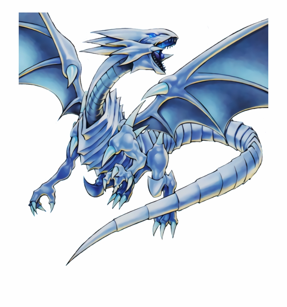 Blue Eyes White Dragon Png Transparent Png Download 1308989