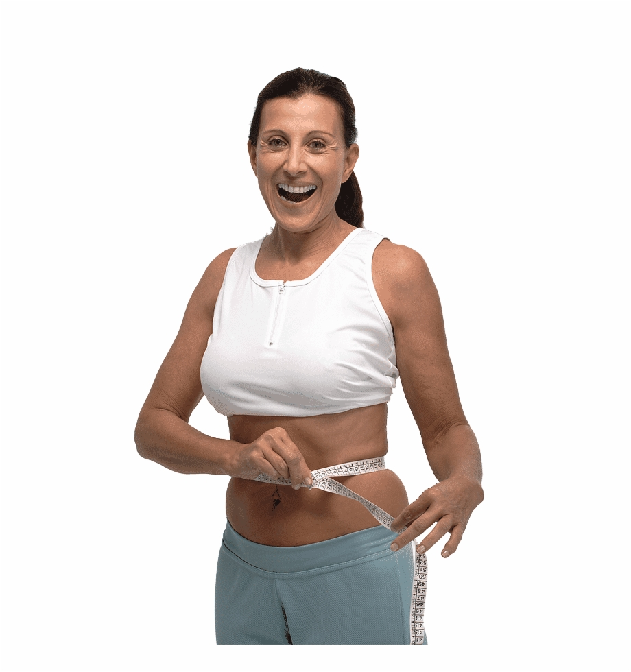 Weight Loss Happy Woman Undershirt Transparent Png Download 1323552 Vippng