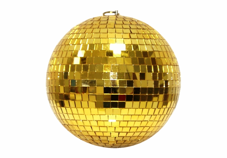 Disco Ball Transparent Png Stickpng Spiegelkugel 20cm Gold Disco Ball Png Transparent Png Download 1335495 Vippng
