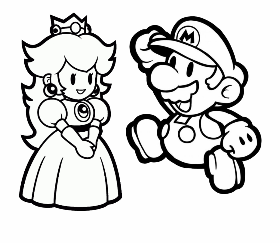 Paper Mario Coloring Pages - Anime Wallpaper HD