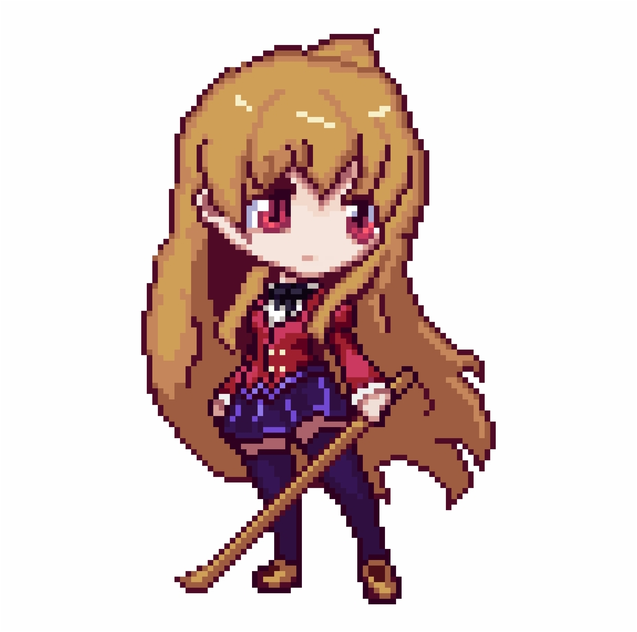 Anime Pixel Art Hd