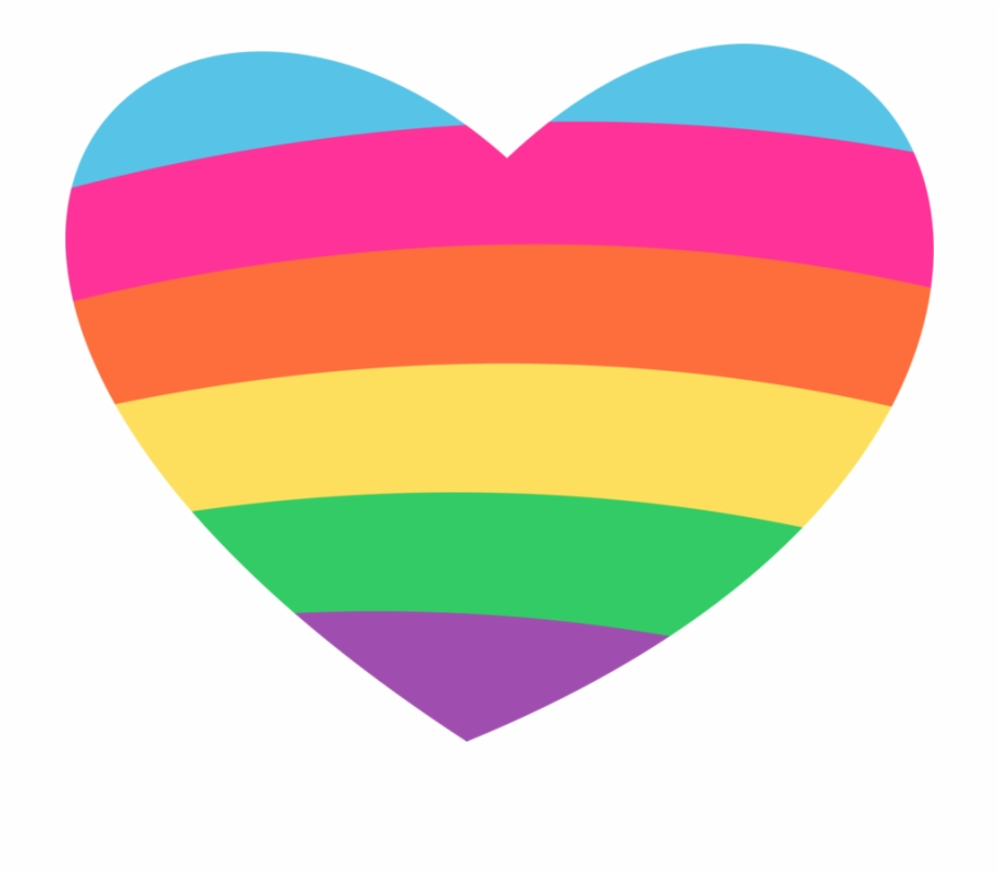 Cute Heart Clipart - Cute Rainbow Heart Clipart ...