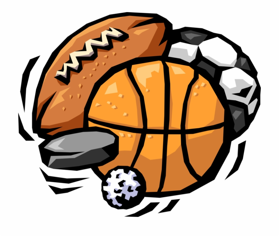 Vector Illustration Of Sports Balls With Football Cartoon Picture Of Sports Transparent Png Download 1364583 Vippng
