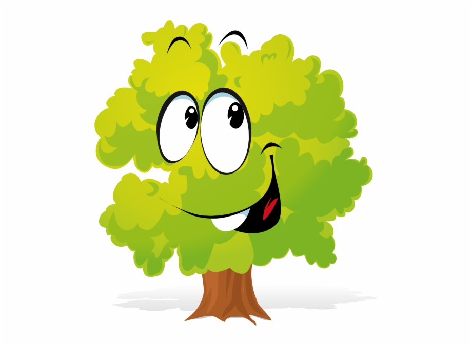 Plant cartoon. Clipart tree transparent png