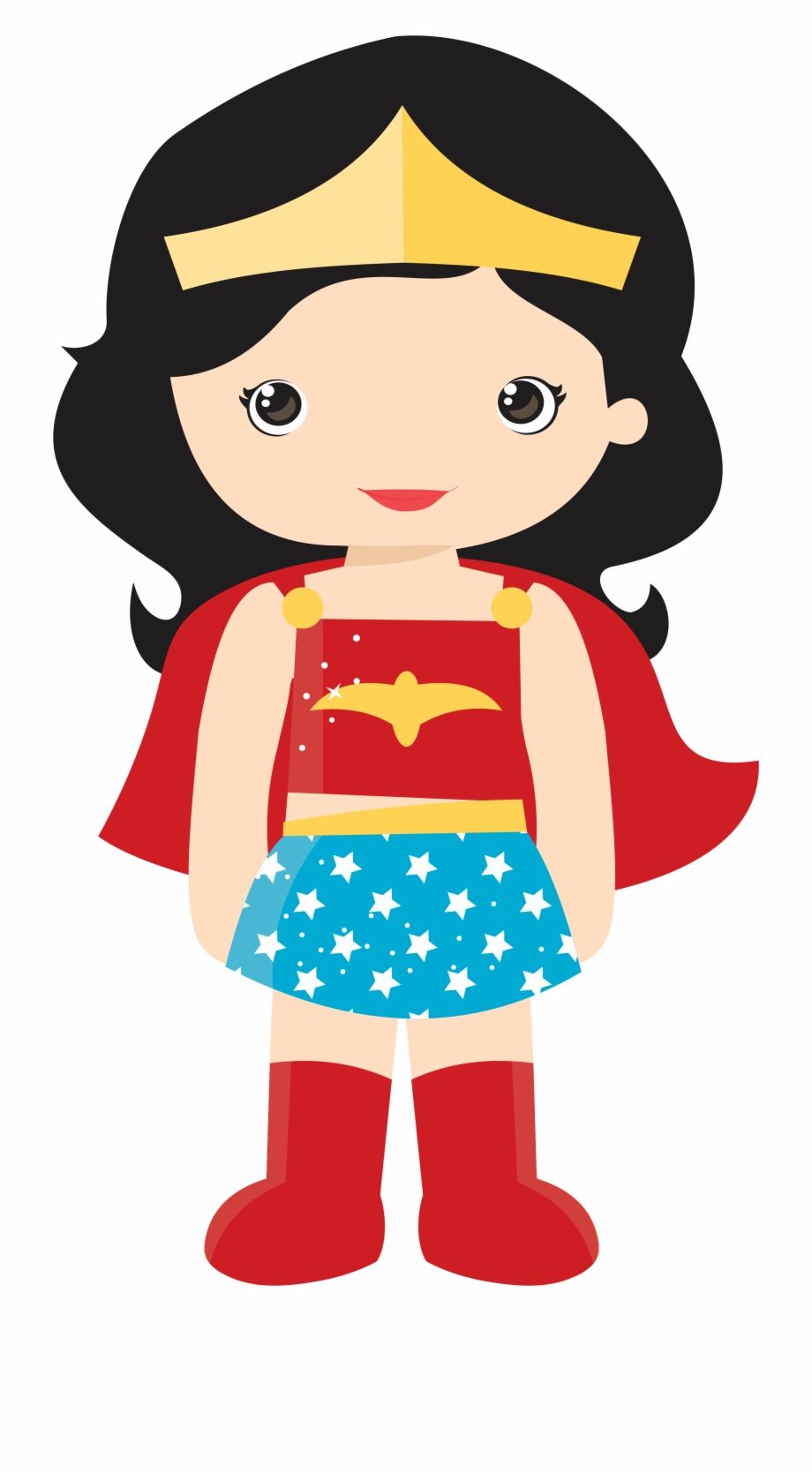 This is an image of Handy Cute Wonder Woman