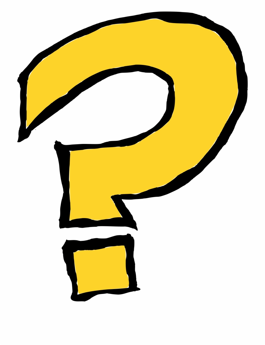 Free Download Cartoon Transparent Background Question Mark