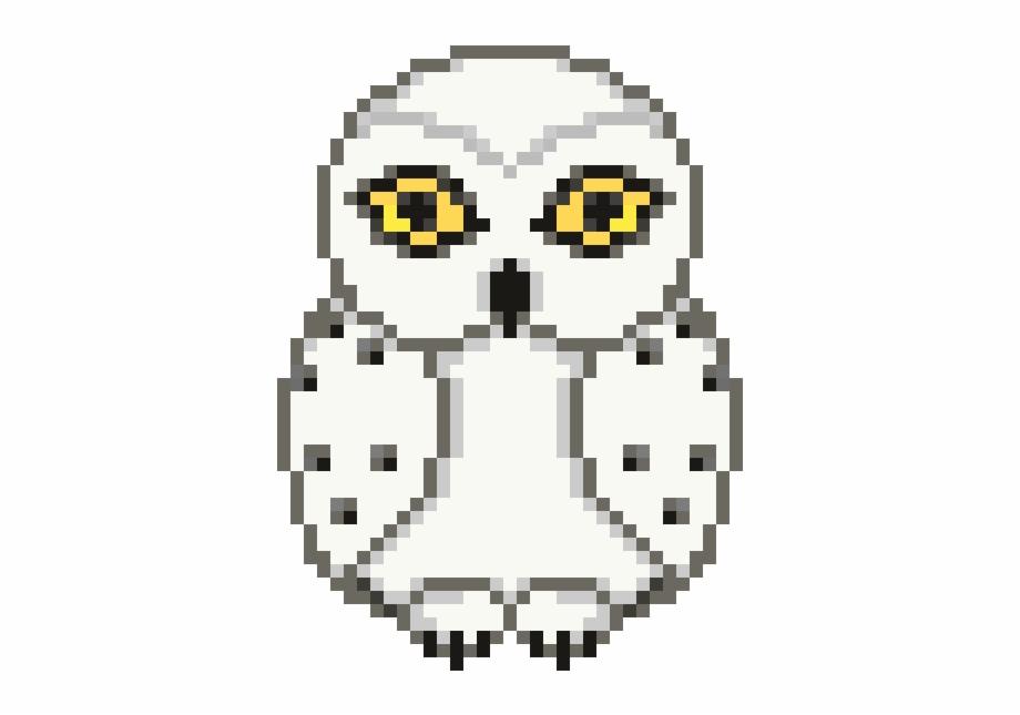 Hedwig Harry Potter Hedwig Pixel Transparent Png