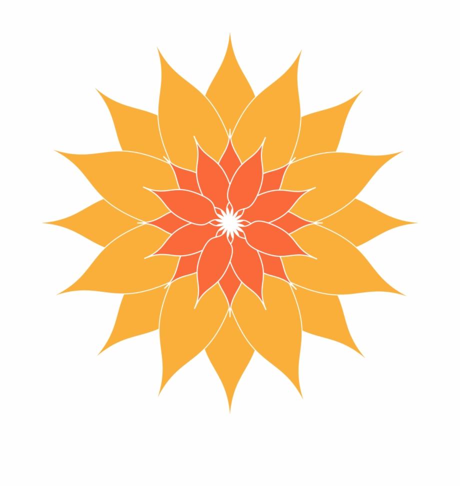 Orange Clip Art Download Gambar Abstrak Matahari