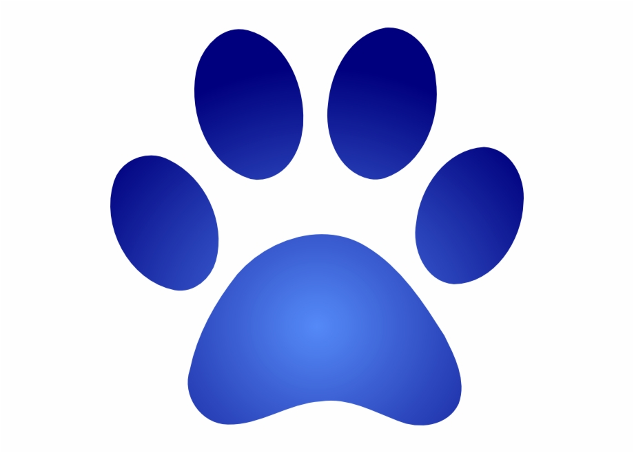 Blue Paw Print With Gradient Svg Clip Arts 600 X 578 Blue Paw Print Company Logo Transparent Png Download 1409213 Vippng Free dog paw print stencil, download free clip art, free. blue paw print with gradient svg clip