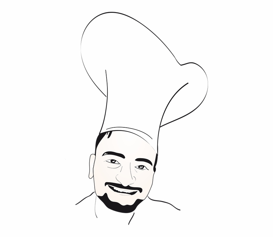 Chef Logo Food Restaurant Icon Design Cook Gambar Png Logo