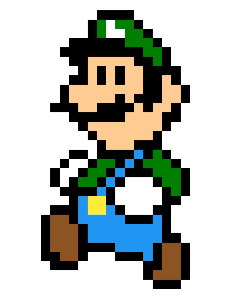 Mario Bros En Cuadricula Png Download Super Mario Bros 2