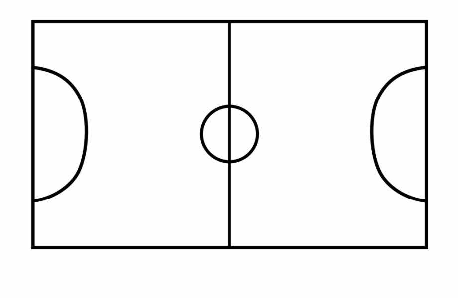 Football Field Clipart Free Clipart Images Soccer Field Black And White Transparent Png Download 1489844 Vippng