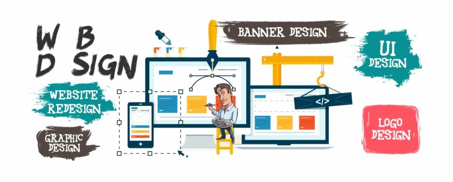 Web Design Services Creative Web Design Banner Transparent Png Download 1503961 Vippng