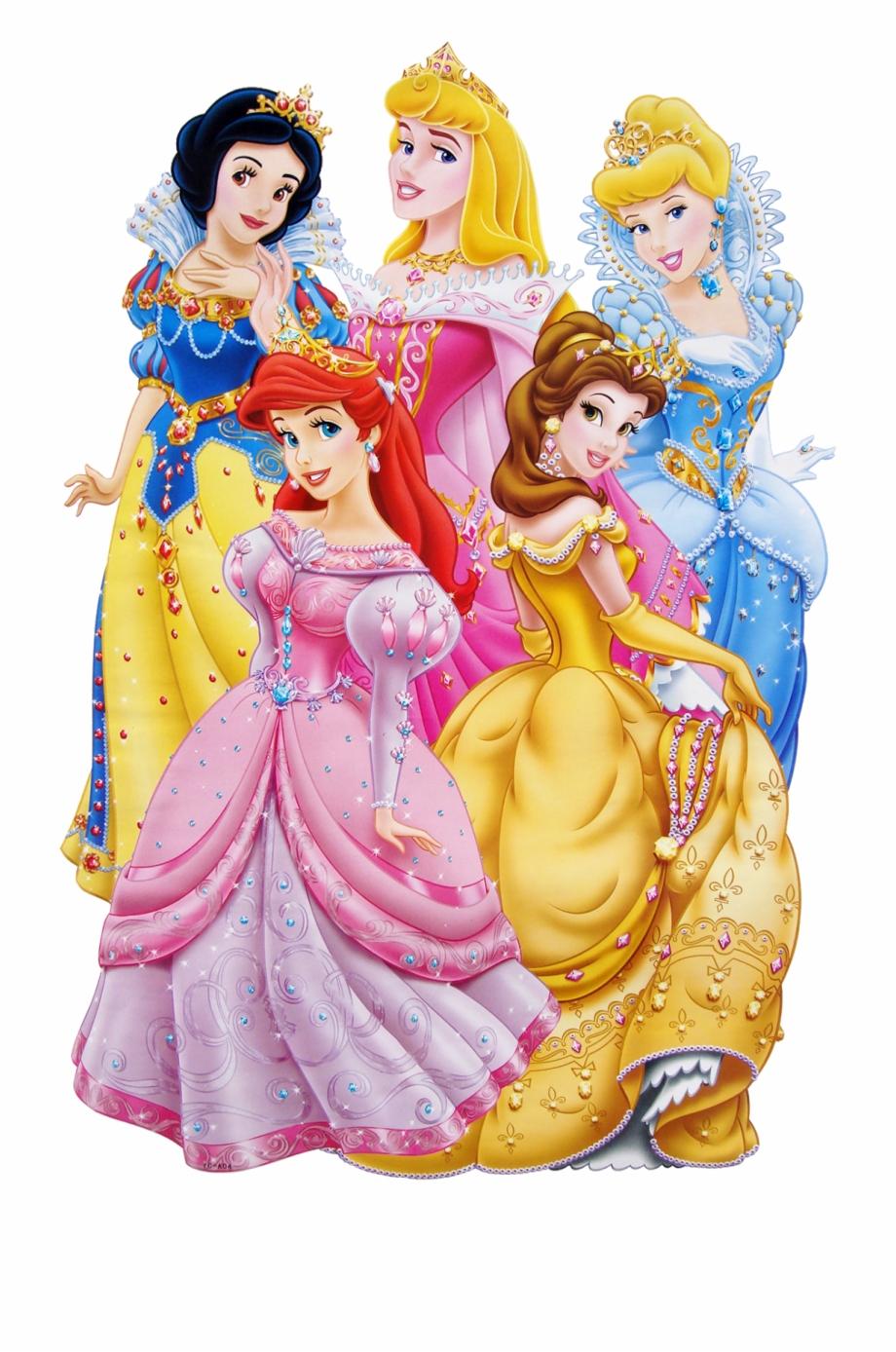 5 Princesas De Disney Png Download 5 Disney Princesses