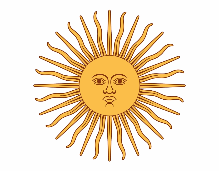The Sun Of May Vector Flag Of Argentina Sun Transparent Png