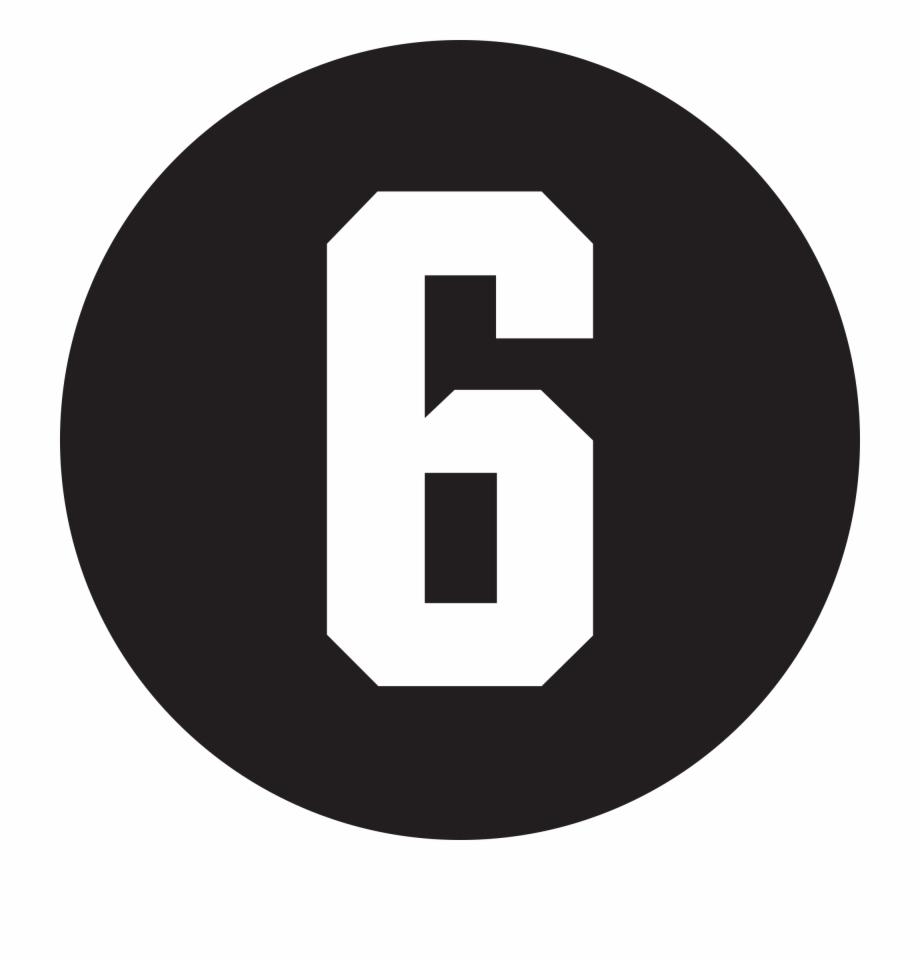 6 Tag Linkedin Logo Black Round Transparent Png Download