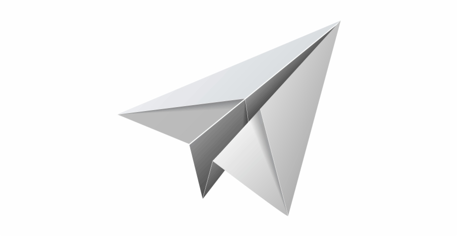 Paper Plane Png Background Image Transparent Paper Plane Png