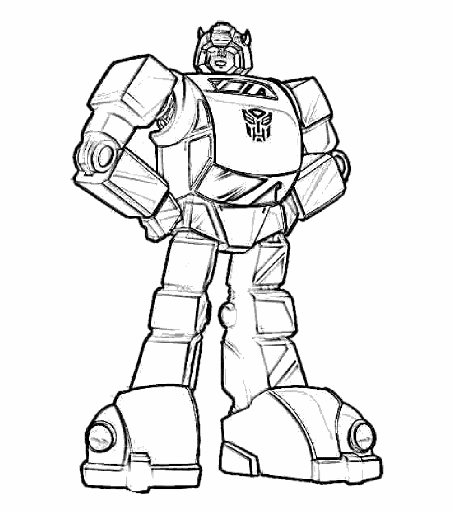 Bumblebee Transformers Coloring Pages Bumblebee Transformer Coloring Page Transparent Png Download 1606121 Vippng