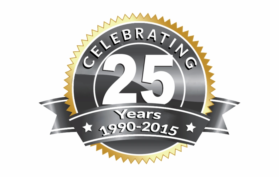 25th anniversary png our th anniversary -  year logo png | transparent png