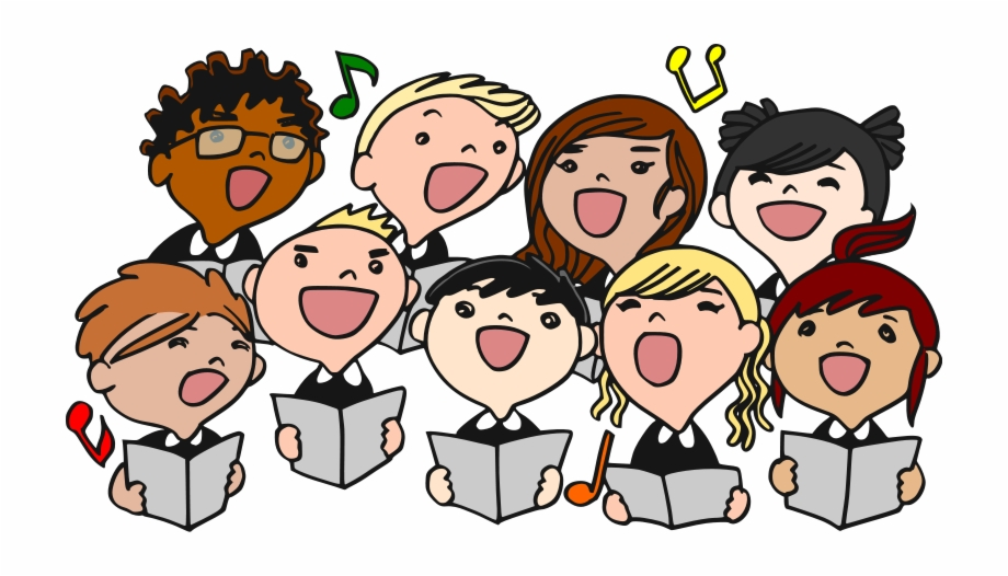 Image result for christmas singing clipart