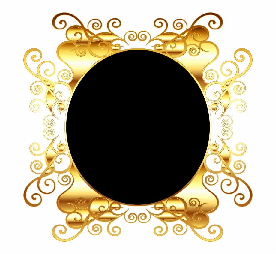 Oval Gold Frame Png Png Medium Transparent Background Gold Border Png Transparent Png Download 1717938 Vippng