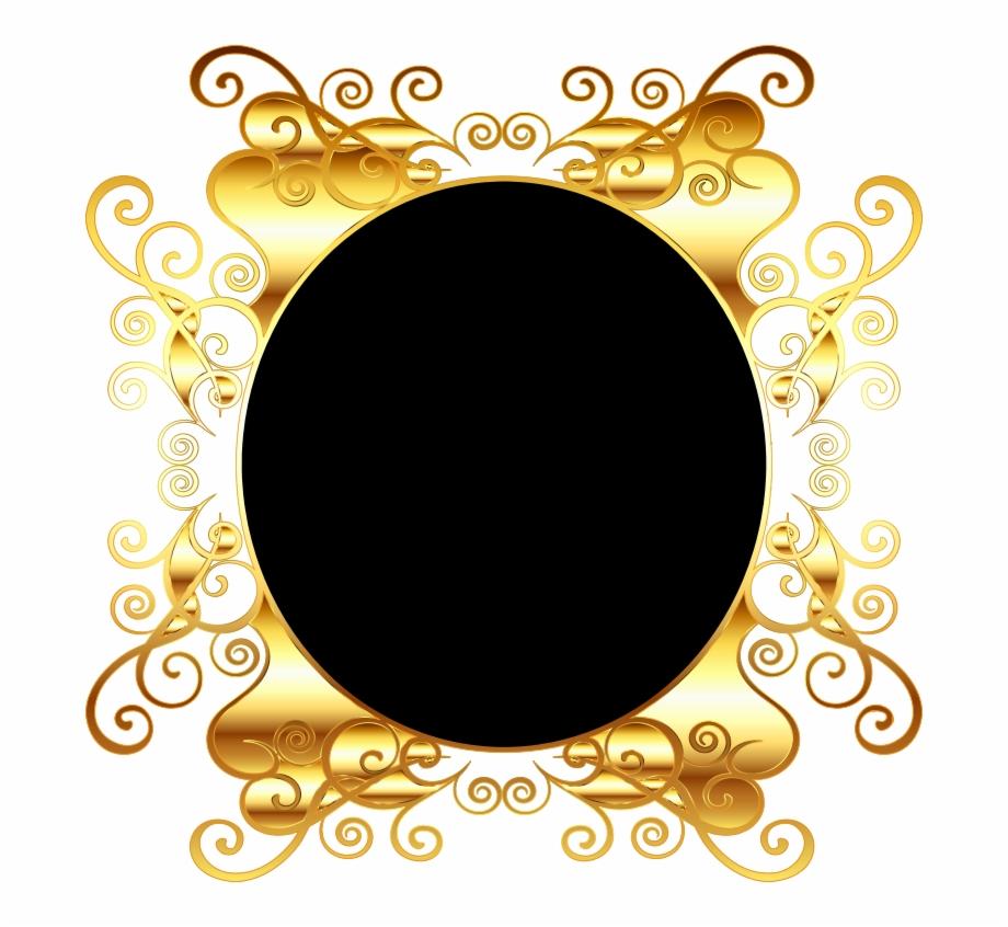 Oval Gold Frame Png Png Medium Transparent Background Gold Border Png Transparent Png Download 1717938 Vippng