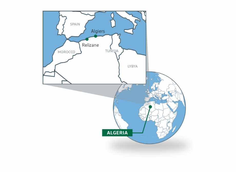 Algeria Is The Largest Country On The African Continent ...